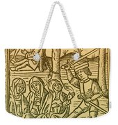 St. Catherine, Italian Philosopher Weekender Tote Bag