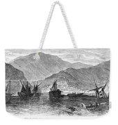 St. Thomas: Hurricane, 1867 Weekender Tote Bag