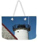 Stage Harbor Lighthouse Weekender Tote Bag