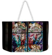 Stained Glass Pc 05 Weekender Tote Bag