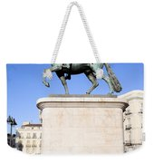 Statue Of King Charles IIi In Madrid Weekender Tote Bag