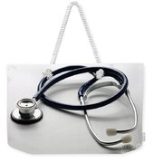 Stethoscope Weekender Tote Bag by Photo Researchers, Inc.