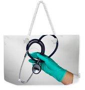 Stethoscope Weekender Tote Bag
