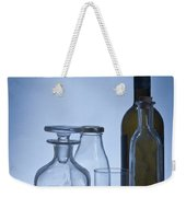 Still Life Of Bottles  Weekender Tote Bag
