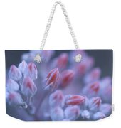 Stonecrop Flowers Emerge On An Early Weekender Tote Bag