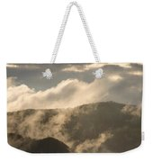 Storm Clouds Gather Over Mountains Weekender Tote Bag