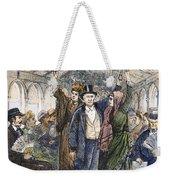 Streetcar, 1876 Weekender Tote Bag by Granger