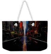Streets Of New York  Weekender Tote Bag