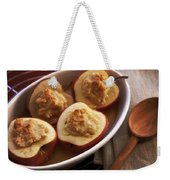 Stuffed Baked Apples Weekender Tote Bag by Joana Kruse