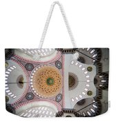 Suleymaniye Mosque Ceiling Weekender Tote Bag