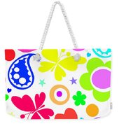 Summer Fun Weekender Tote Bag by Louisa Knight