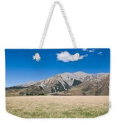 Summer Landscape Blue Sky  Weekender Tote Bag
