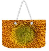 Sunflower Close Up Weekender Tote Bag