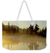 Sunlight On An Alpine Lake Weekender Tote Bag