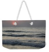 Sunrise Over Arabian Sea Hawf Protected Weekender Tote Bag