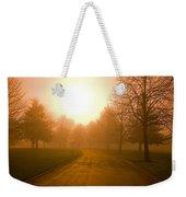 Sunrise Over Country Road, Oregon Weekender Tote Bag