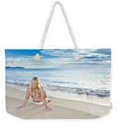 Sunrise Woman Weekender Tote Bag