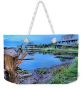 Sunset On The Sound Weekender Tote Bag