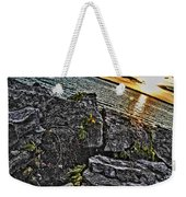 Sunset Please On The Rocks Weekender Tote Bag