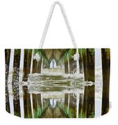 Surf City Pier Reflection Weekender Tote Bag