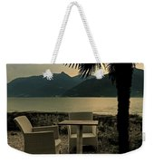 Table And Chairs Weekender Tote Bag
