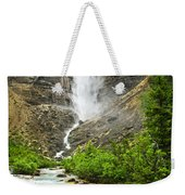 Takakkaw Falls Waterfall In Yoho National Park Canada Weekender Tote Bag