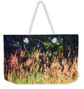 Tall Grass Weekender Tote Bag