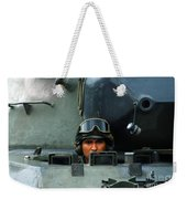 Tank Driver Of A Leopard 1a5 Mbt Weekender Tote Bag