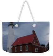 Tawas Point Lighthouse Weekender Tote Bag