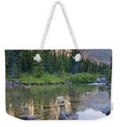 Taylor Lake, Banff National Park Weekender Tote Bag