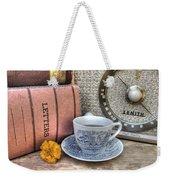 Tea Time Weekender Tote Bag by Jane Linders
