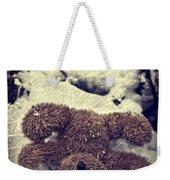 Teddy In Snow Weekender Tote Bag by Joana Kruse