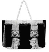 Temple Of Hathor Weekender Tote Bag by Photo Researchers, Inc.