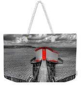 Tenby Lifeboat House Colour Pop Weekender Tote Bag