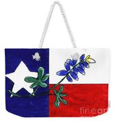 Texas Bluebonnet Weekender Tote Bag