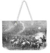 Texas: Cattle Drive, 1867 Weekender Tote Bag