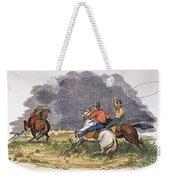 Texas Cowboys, C1850 Weekender Tote Bag