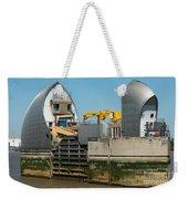 Thames Barrier Weekender Tote Bag