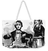 Thanksgiving, 19th Century Weekender Tote Bag