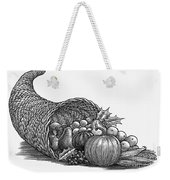 Thanksgiving: Cornucopia Weekender Tote Bag