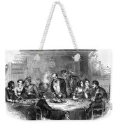 Thanksgiving Dinner, 1850 Weekender Tote Bag