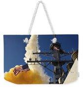 The Aegis-class Destroyer Uss Hopper Weekender Tote Bag