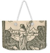 The Astrologer Albumasar Weekender Tote Bag