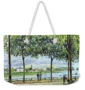 The Avenue Of Chestnut Trees Weekender Tote Bag by Alfred Sisley