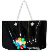 The Black Hand Weekender Tote Bag