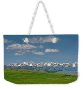 The Bridger Mountains Weekender Tote Bag