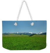The Crazy Mountains Weekender Tote Bag