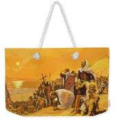 The Crusades Weekender Tote Bag by Gerry Embleton
