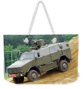 The Dingo 2 Mppv Of The Belgian Army Weekender Tote Bag by Luc De Jaeger