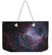 The Dumbbell Nebula Weekender Tote Bag